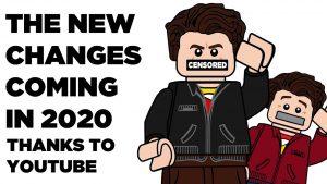 Youtube промени през 2020 година